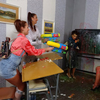 Schoolgirls shooting